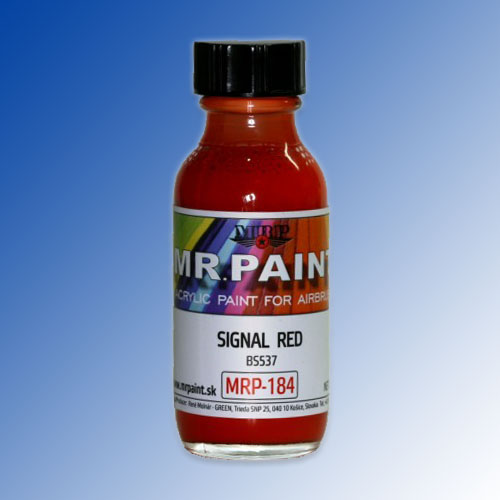 MRP-184 Signal Red BS537 30ml