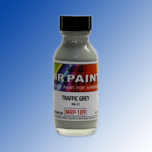 MRP-189 Traffic Grey (MiG-31) 30ml