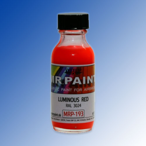 MRP-193 Luminous Red RAL3024 30ml