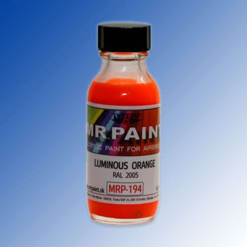 MRP-194 Luminous Orange RAL2005 30ml