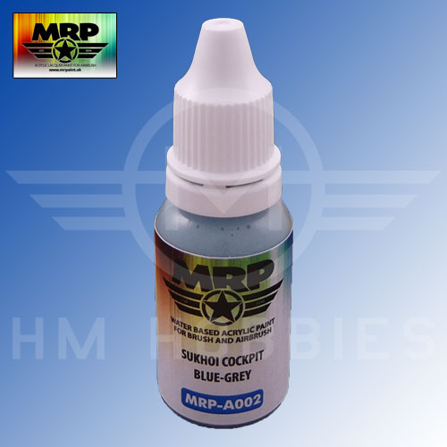 MRP-A002 Sukhoi Cockpit Blue Gray AQUA 17ml