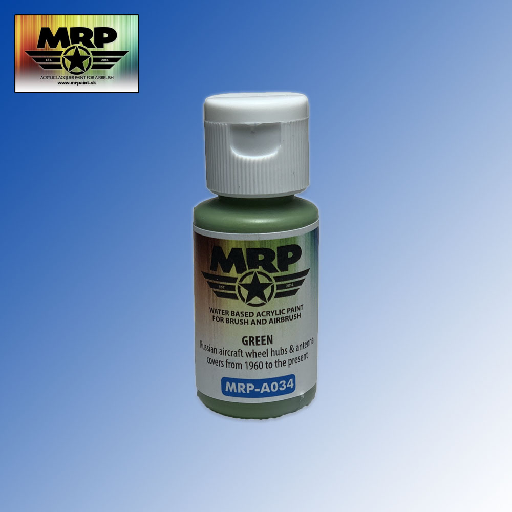 MRP-A034 Green for Wheels AQUA 17ml