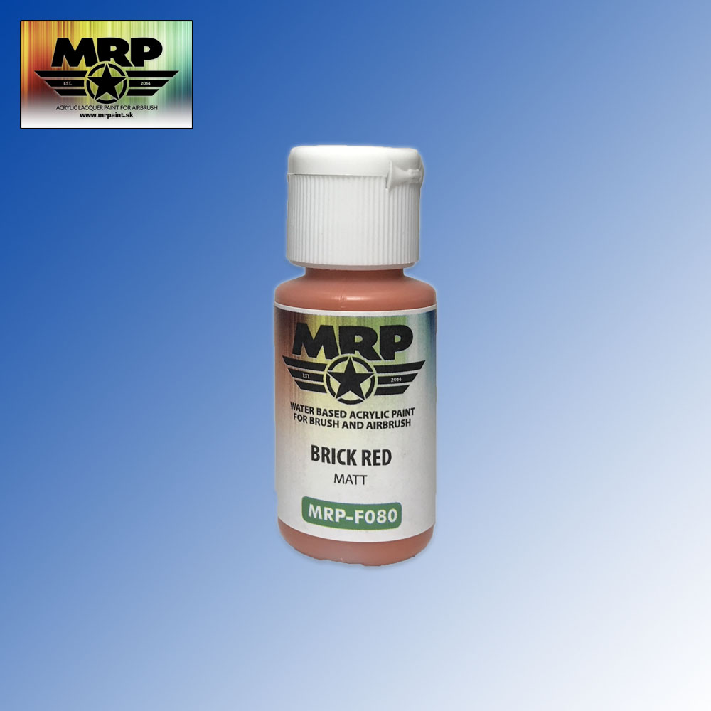 MRP-F080 Brick Red Matt AQUA FIGURE 17ml