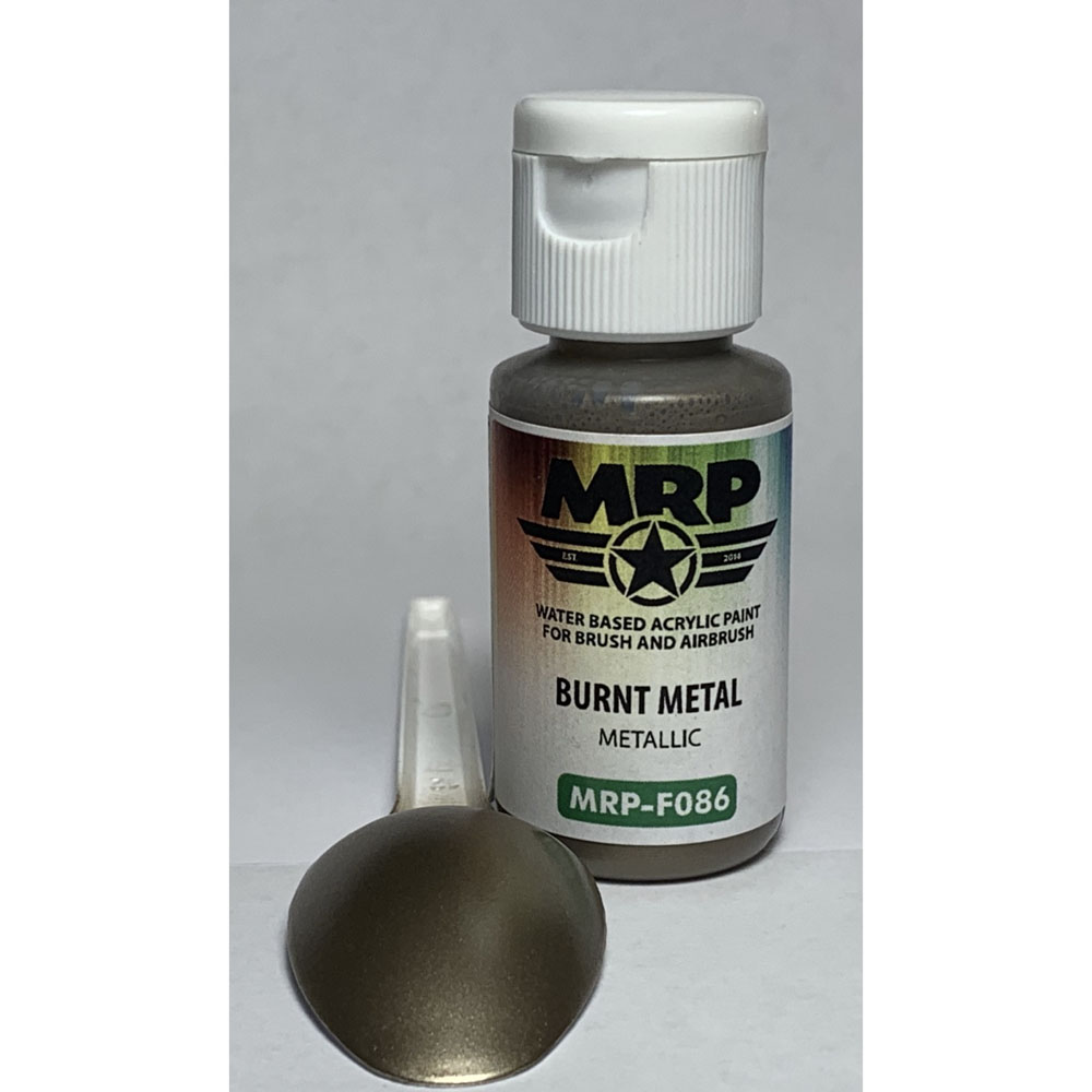 MRP-F086 Burnt Metal Metallic AQUA FIGURE 17ml