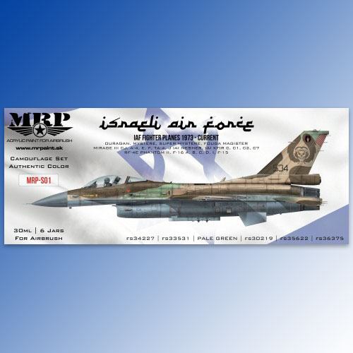Israeli Air Force Set 6x30ml