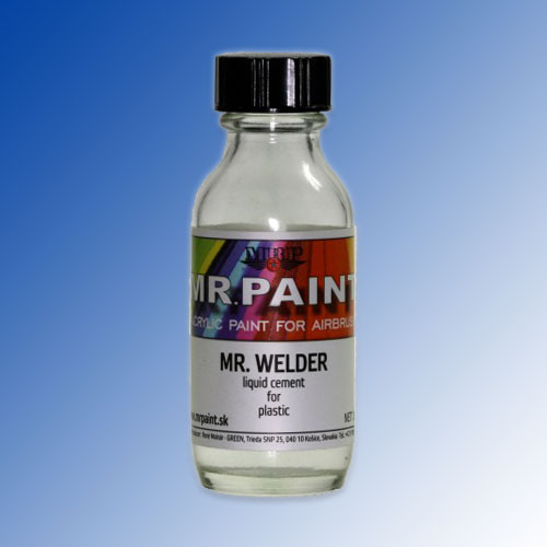 MR. WELDER - Liquid cement for plastic 30ml