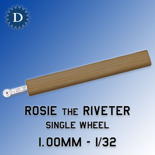 Rosie the Riveter 1.00mm Single Wheel (1/32) Dousek