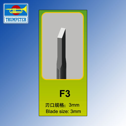 F3 Model Chisel Trumpeter Tools