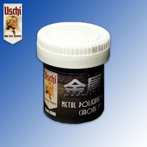Metal Polishing Powder ''Chrome'' (25ml) Uschi van der Rosten