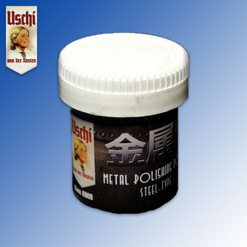 Metal Polishing Powder ''Steel'' (25ml) Uschi van der Rosten