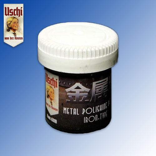 Metal Polishing Powder ''Iron'' (25ml) Uschi van der Rosten
