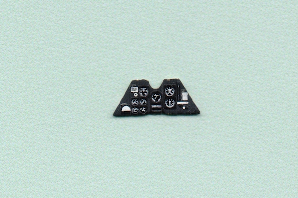 P.24 Coloured Photoetch Instrument Panels - ''JustStick'' Ready to fit (designed for Azur kits) 1:72 Yahu Models