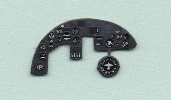 Do 215B-5 Coloured Photoetch Instrument Panels - ''JustStick'' Ready to fit (designed for ICM kits) 1:72 Yahu Models