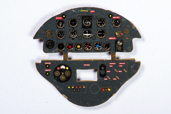 Letov S-328 Coloured Photoetch Instrument Panels - ''JustStick'' Ready to fit (designed for KP kits) 1:72 Yahu Models