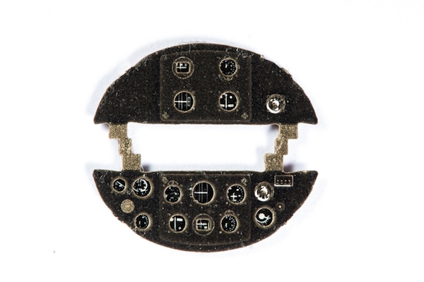 Po-2 / U-2 LNB Coloured Photoetch Instrument Panels - ''JustStick'' Ready to fit (designed for ICM kits) 1:72 Yahu Models