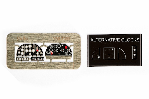 IAR-80 Coloured Photoetch Instrument Panels (designed for A-model / Parc Model kits) 1:72 Yahu Models