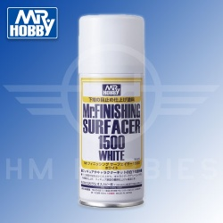 Mr Finishing Surfacer 1500 White Spray 170ml